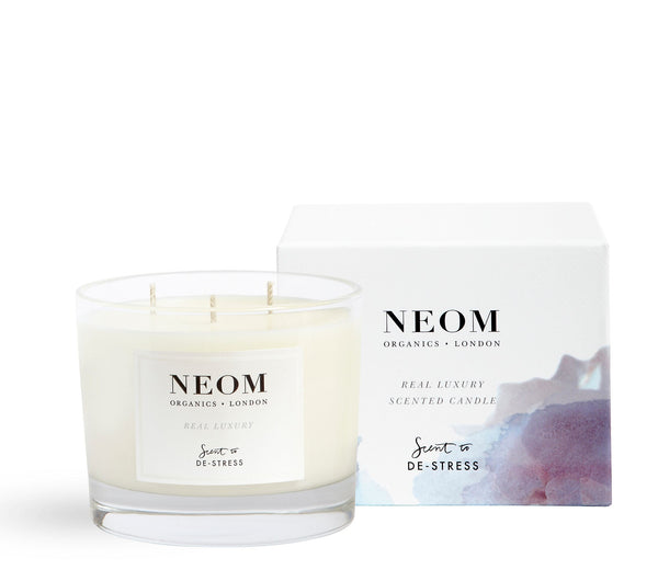 Neom 3 Wick Candle - Scent to De-Stress