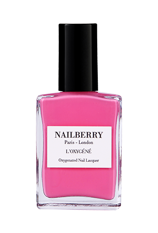 Nailberry Breathable & Oxygenated Nail lacquer- Pink Tulip