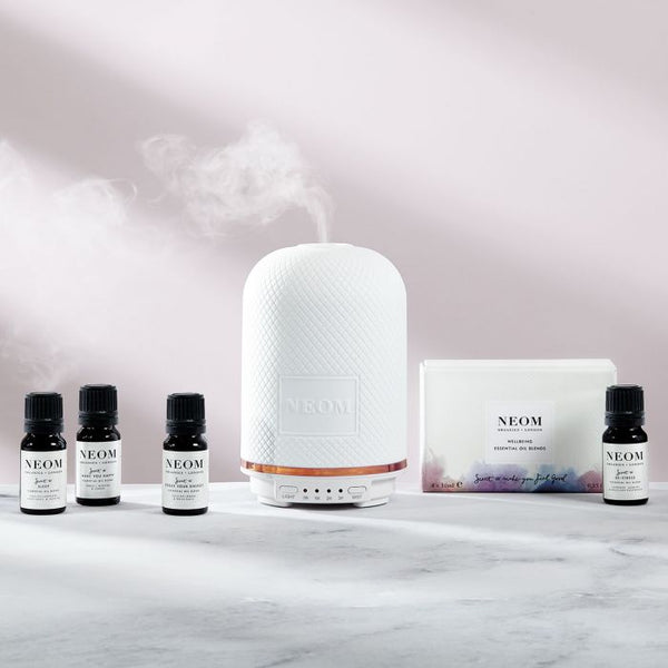 Neom Wellbeing Essential Oil Blends Collection