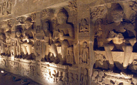 Buddhist monuments in Ajanta caves