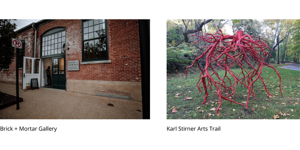 Brick + Mortar Gallery and Karl Stirner Arts Trail