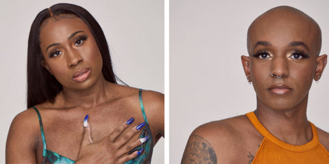 Profile photo of Asanni Armon and Ahmaad, founder and resident DJ for Black trans led mutual aid organization in New York For The Gworls