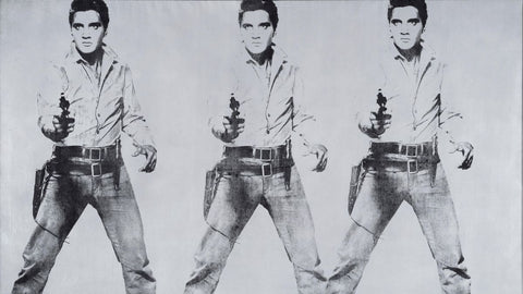 Andy Warhol's triple Elvis