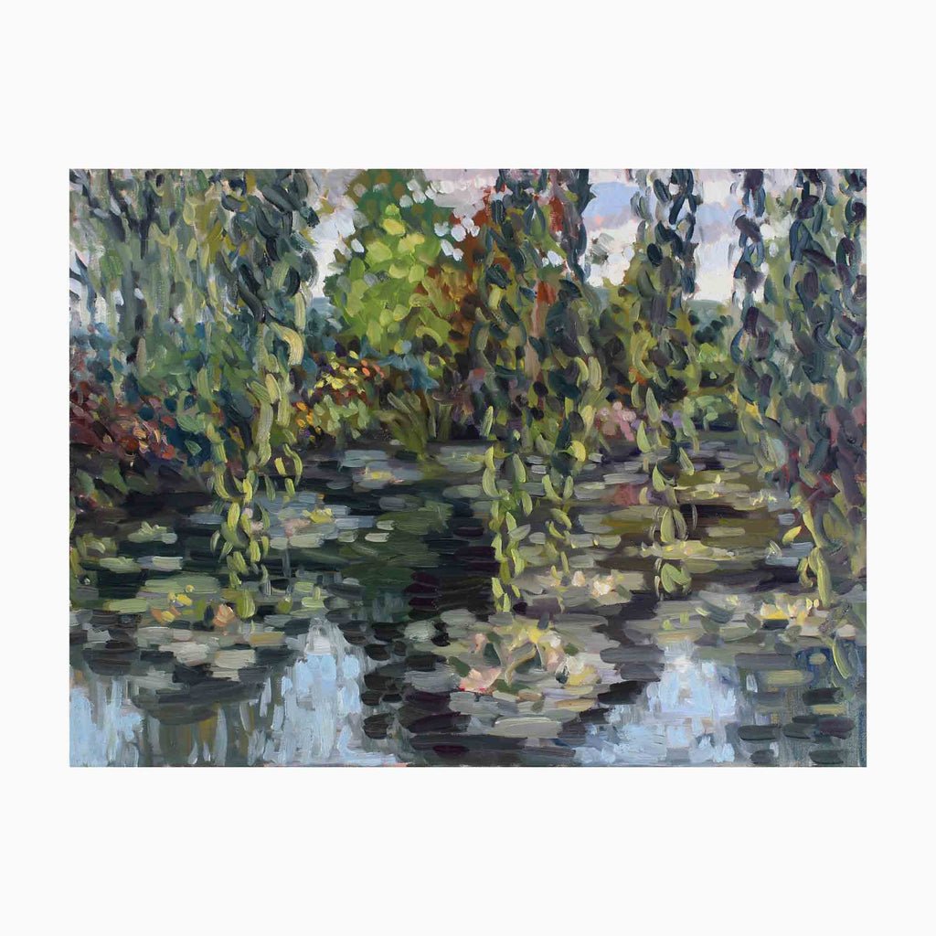 Giverny Lilly Pond by Elody Gyekis