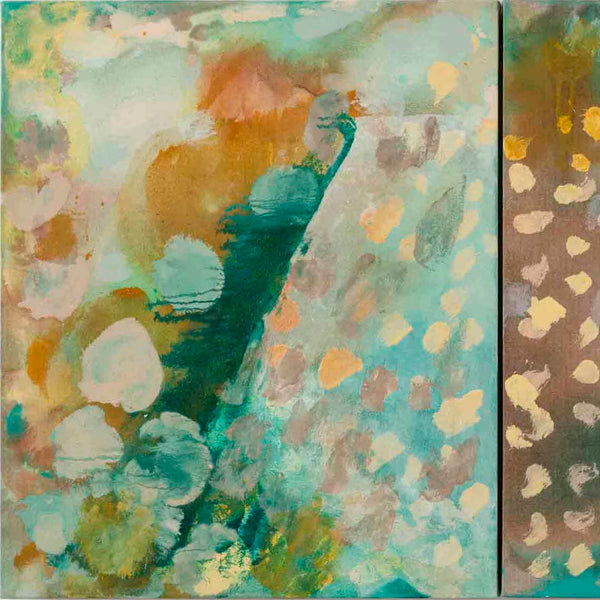 Dwell in Green Mountain Diptych