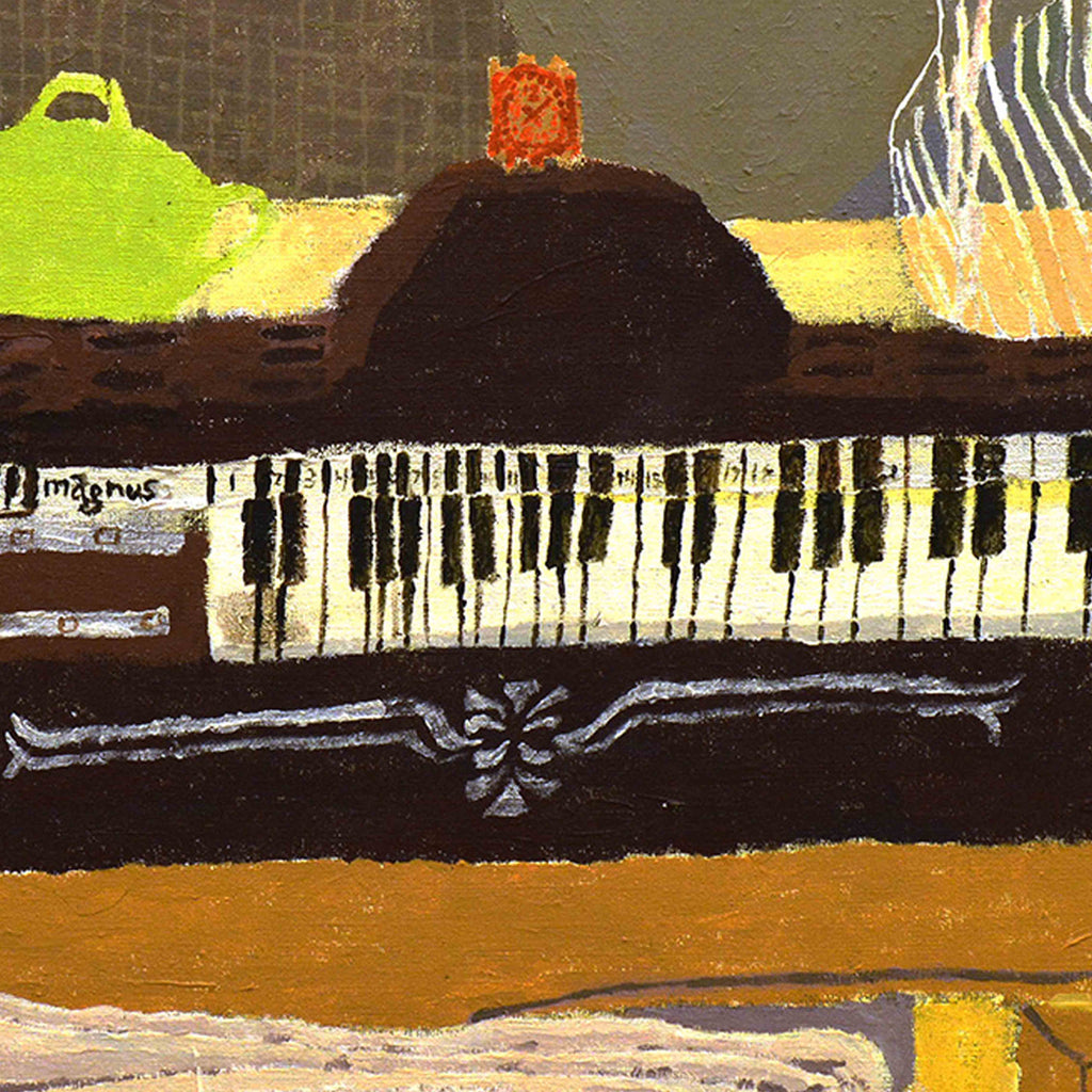 Do you know how many great paintings have pianos in them? by Marta Lee