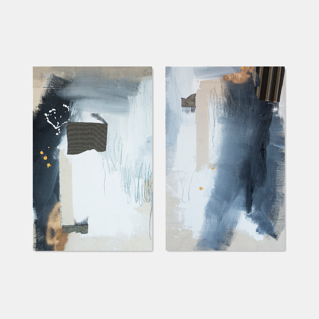 Phase Two (Diptych) by Rebecca Stern