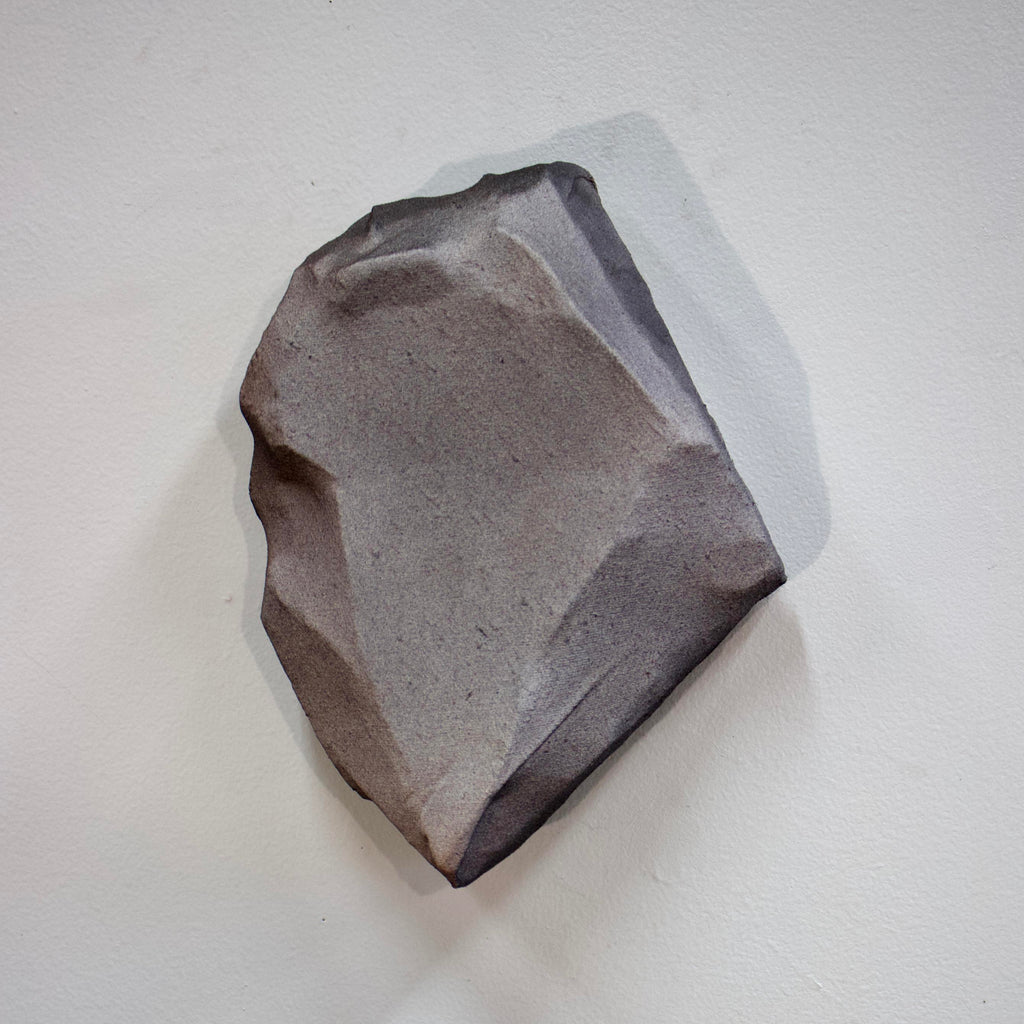 An original minimalist mixed media sculpture by Ahavani Mullen, an artist who has exhibited in New York, titled Friendship with the Unknown No. 7