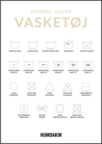 vasketøj guide
