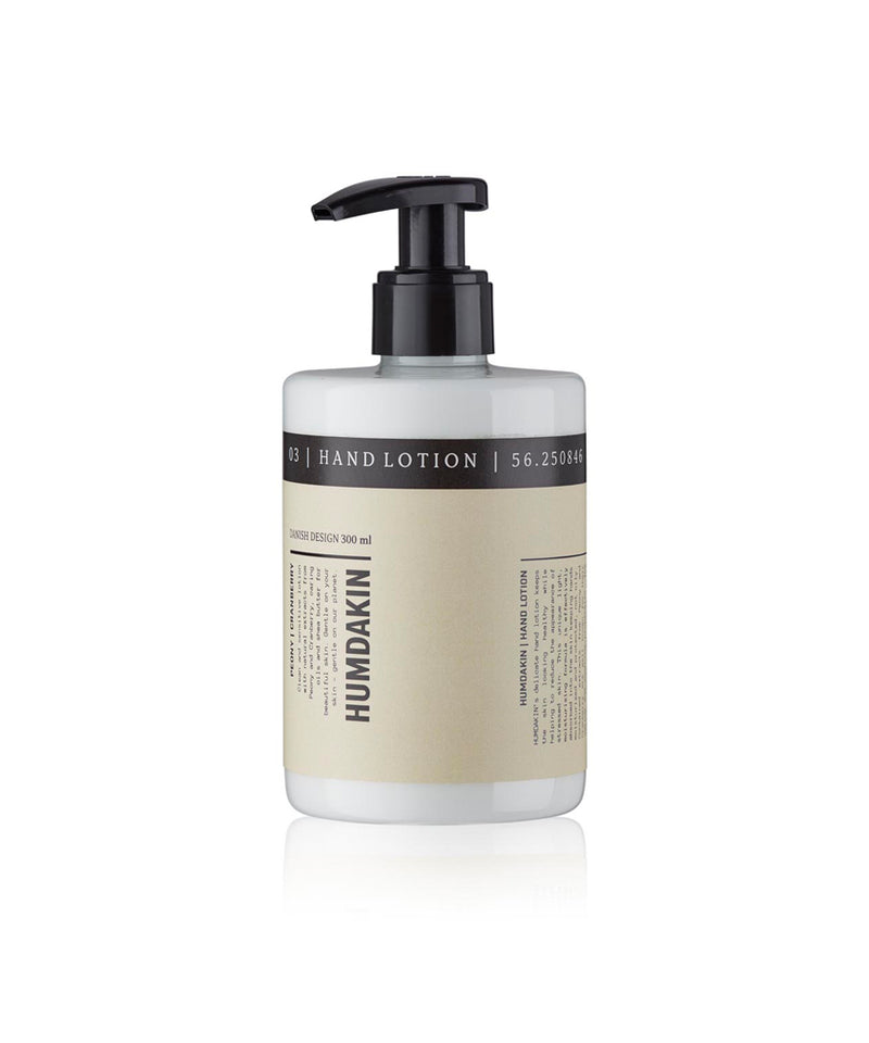 03 - Hand lotion - Peony and cranberry - humdakin.dk