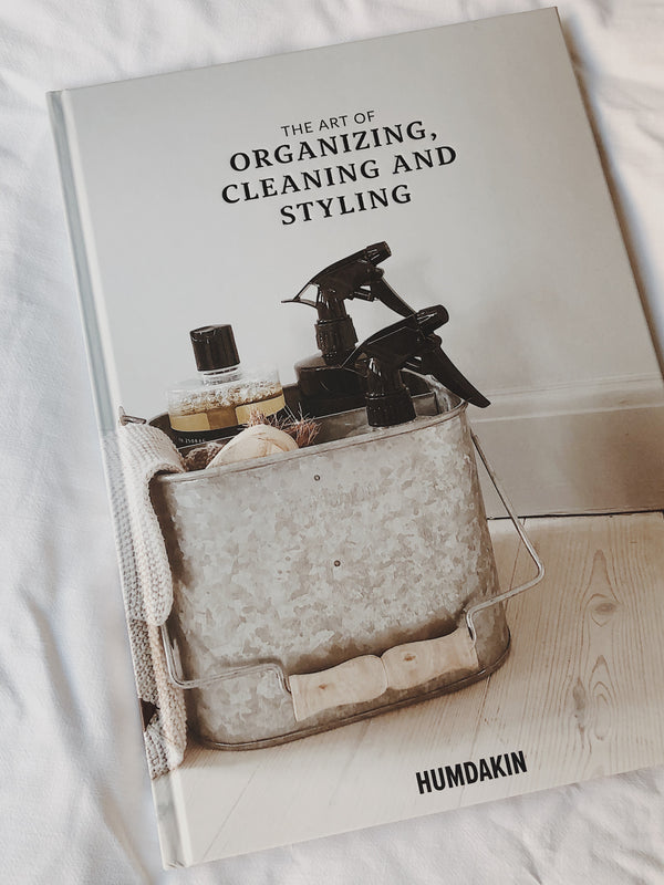HUMDAKIN Book: The art of organizing, cleaning and styling Book