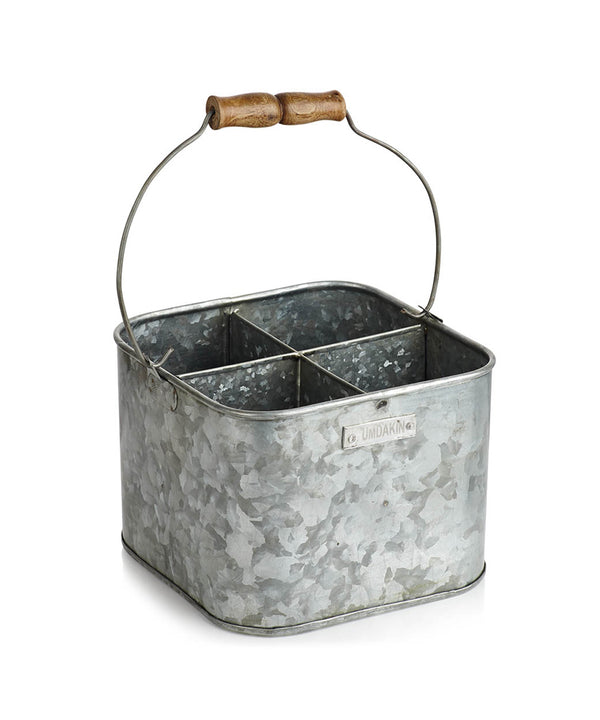 HUMDAKIN Humdakin iron bucket square Buckets 024 Iron