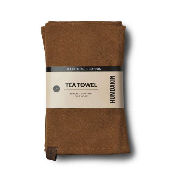 HUMDAKIN Organic tea towel - 2 pack Organic textiles 038 Sunset