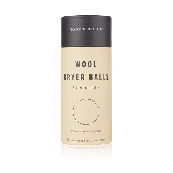 HUMDAKIN Wool dryer balls - 3 pack Laundry