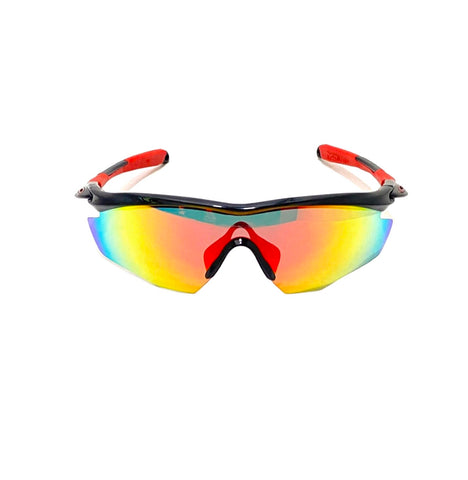 Oakley EV Pitch Red Tint Sunglasses