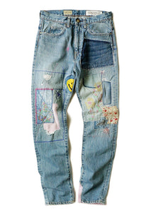 Kapital Kountry 14Oz Denim 5P Okabilly Gypsy PatchWork