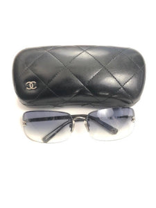 CHANEL SUNGLASSES DARK TINT-OS