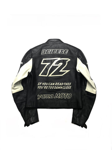 Yohji Yamamoto Y's Pour Homme AW-04 'You're Too Damn Close' Runway Dianese Motorcycle Jacket