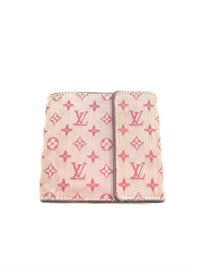 LOUIS VUITTON RED MONOGRAM WALLET