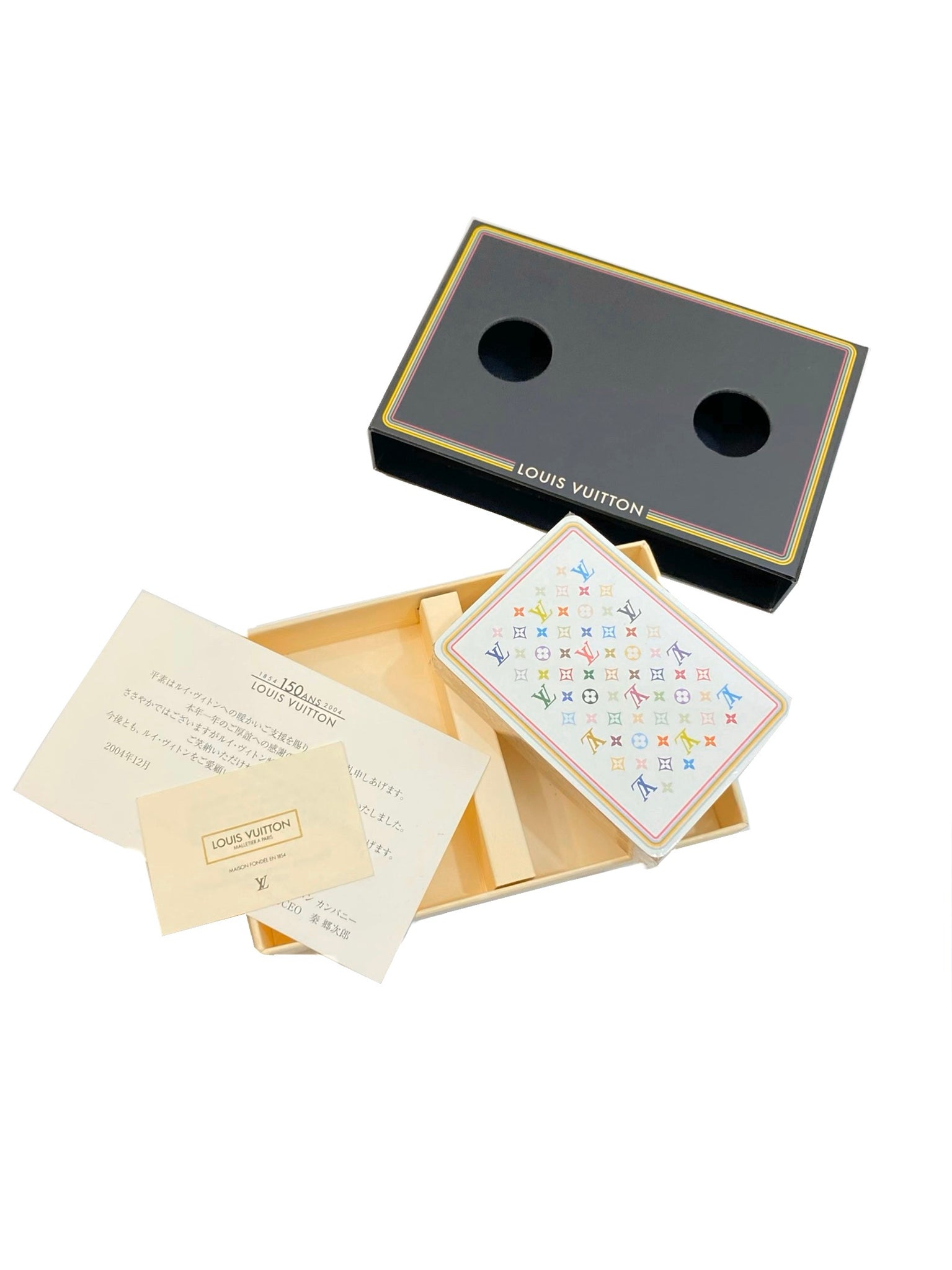 Louis Vuitton x Takashi Murakami Set of Poker Cards