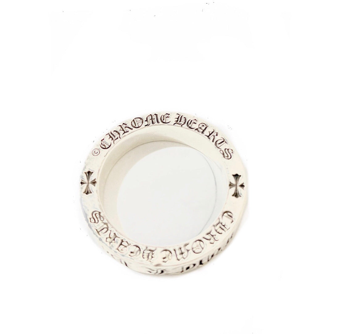 Chrome Hearts 'Fuck You' .925 Silver Ring
