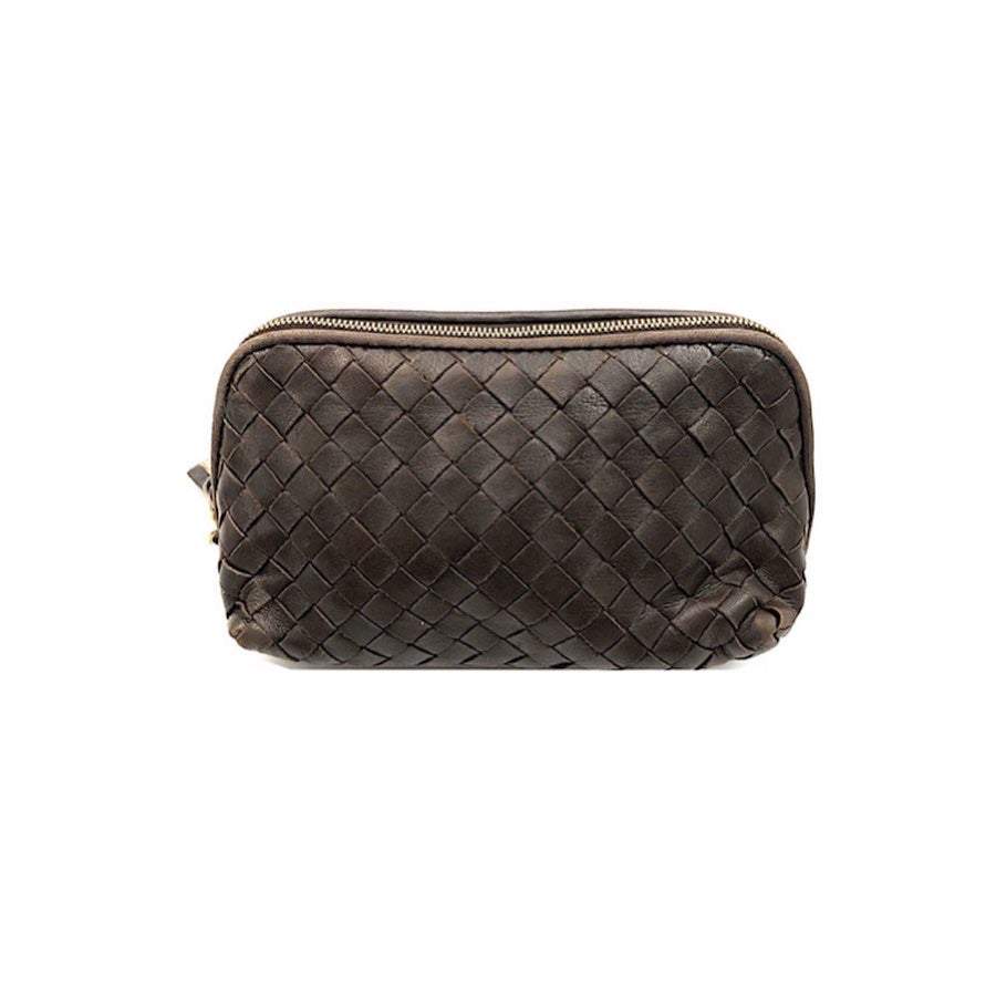 Bottega Veneta Quilted Calfskin Toiletry Pouch