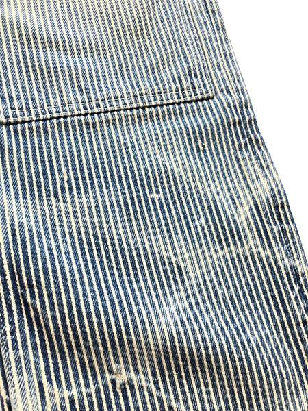 Number (N)ine SS08 Hickory Striped Denim