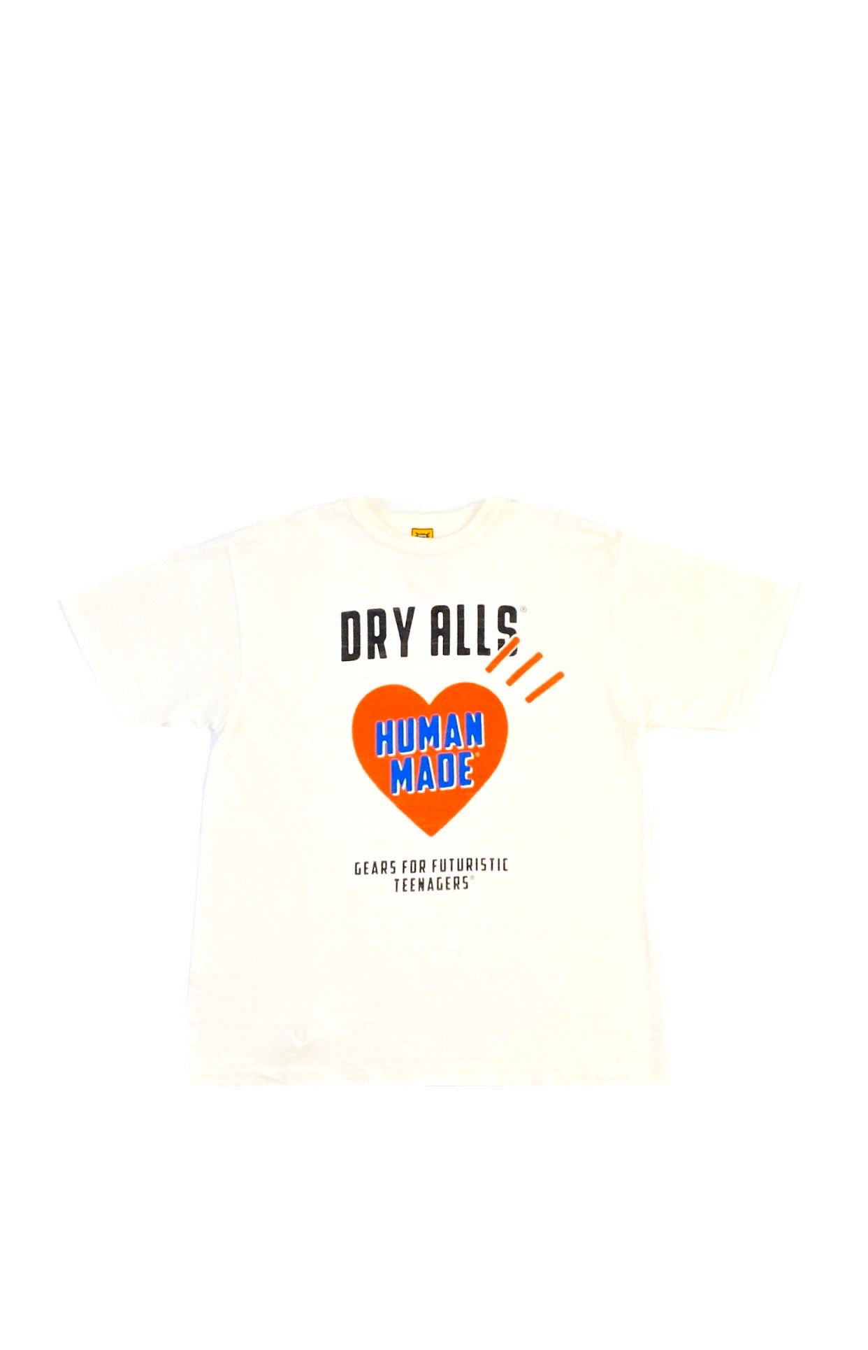 Human Made Dry Alls 'Gears For Futuristic Teenagers' T-Shirt  Size Large