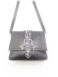 Jean Paul Gaultier Skull and Studs Shoulder Bag