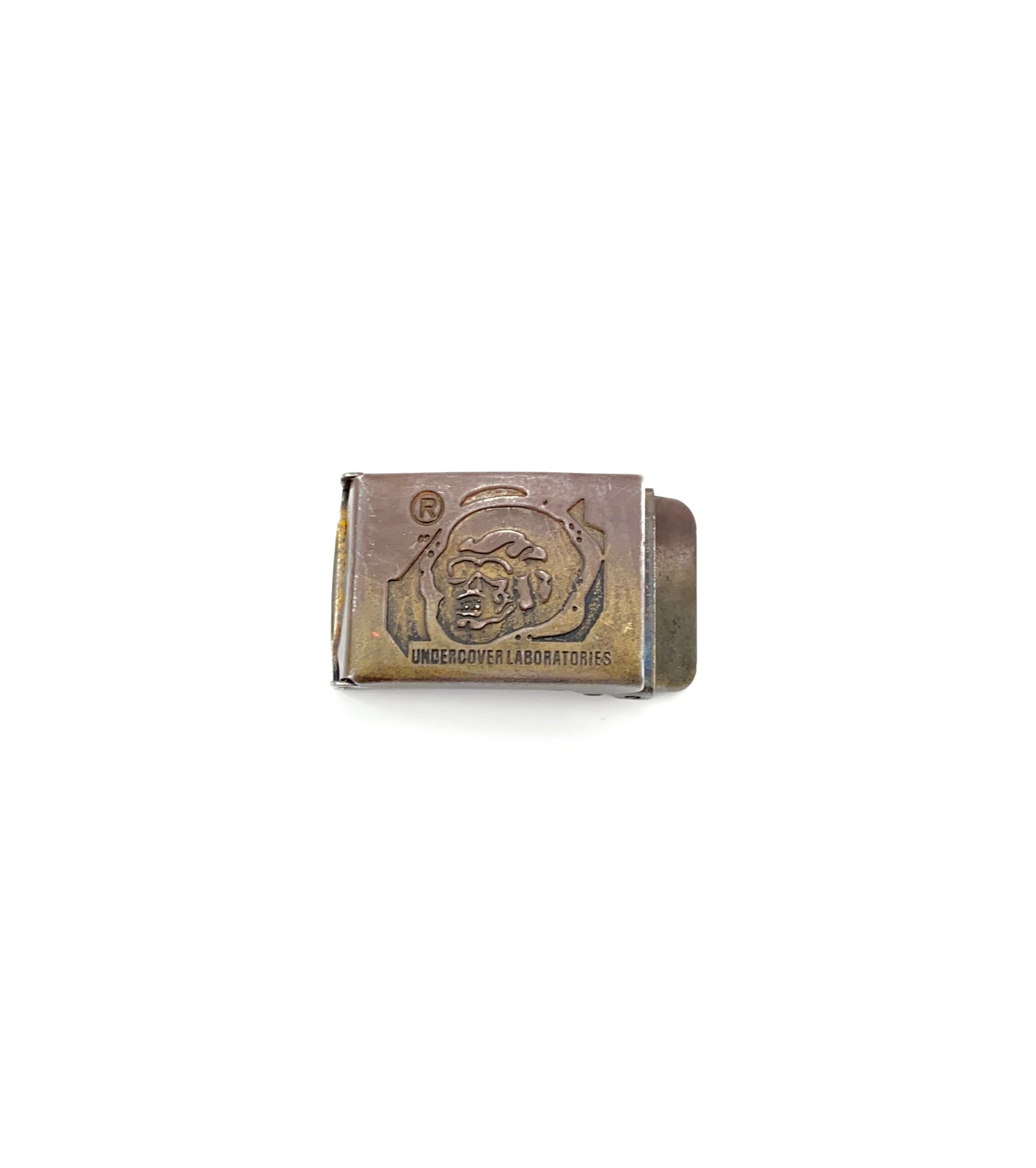 2000ss  Undercover Laboratories Skull Belt Buckle