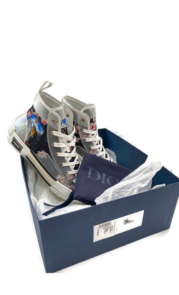 B23 High Top Canvas Sorayama Dinosaur Navy