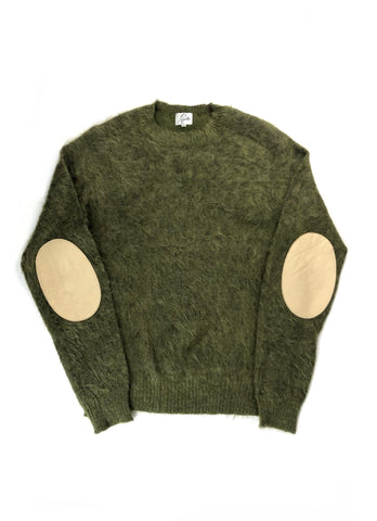 Needles Mohair Elbow Patch Sweater- Size XL