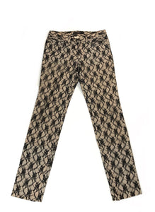 Undercover SS05 'BBII HOMAGE TO JAN SVANKMAJER' Lace Front Pants- Size 3