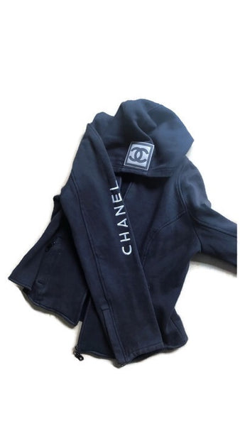 VINTAGE CHANEL HOODIE- SIZE XS