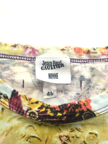 Jean Paul Gaultier Homme Tropical Print Tee- Size 48