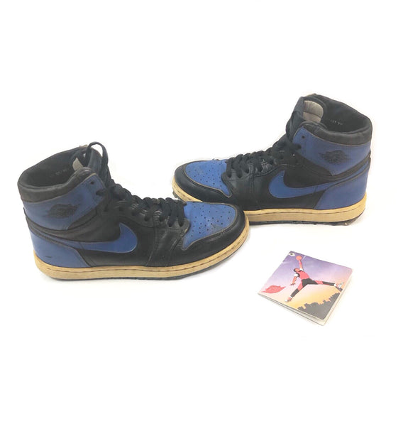 NIKE AIR JORDAN 1 HI 1985 OG ROYAL BLUE