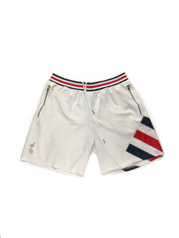 KITH x ADIDAS MATCH SHORTS FLAMINGOS HOME- SIZE XL (33-36)
