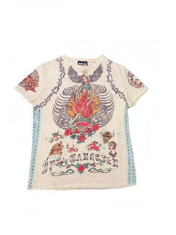 Jean Paul Gaultier S/S 2007 Virgin Mary Short Sleeve Shirt