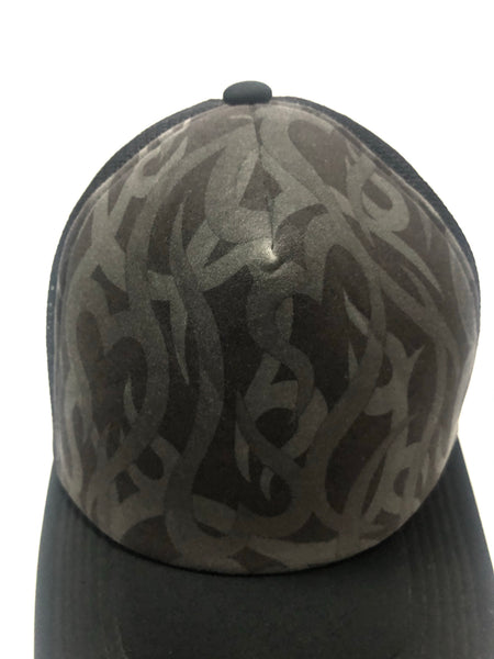 "Number (N)ine AW04 ""Give Peace A Chance"" Heart Tribal Trucker Hat- OS"