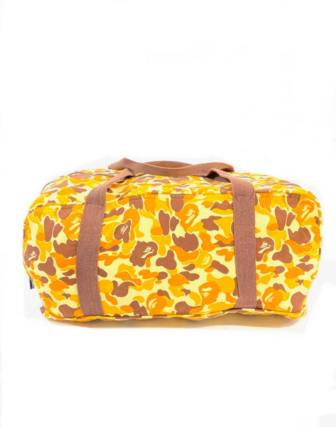 """Nigo Era"" A Bathing ape Camo Travel Bag"