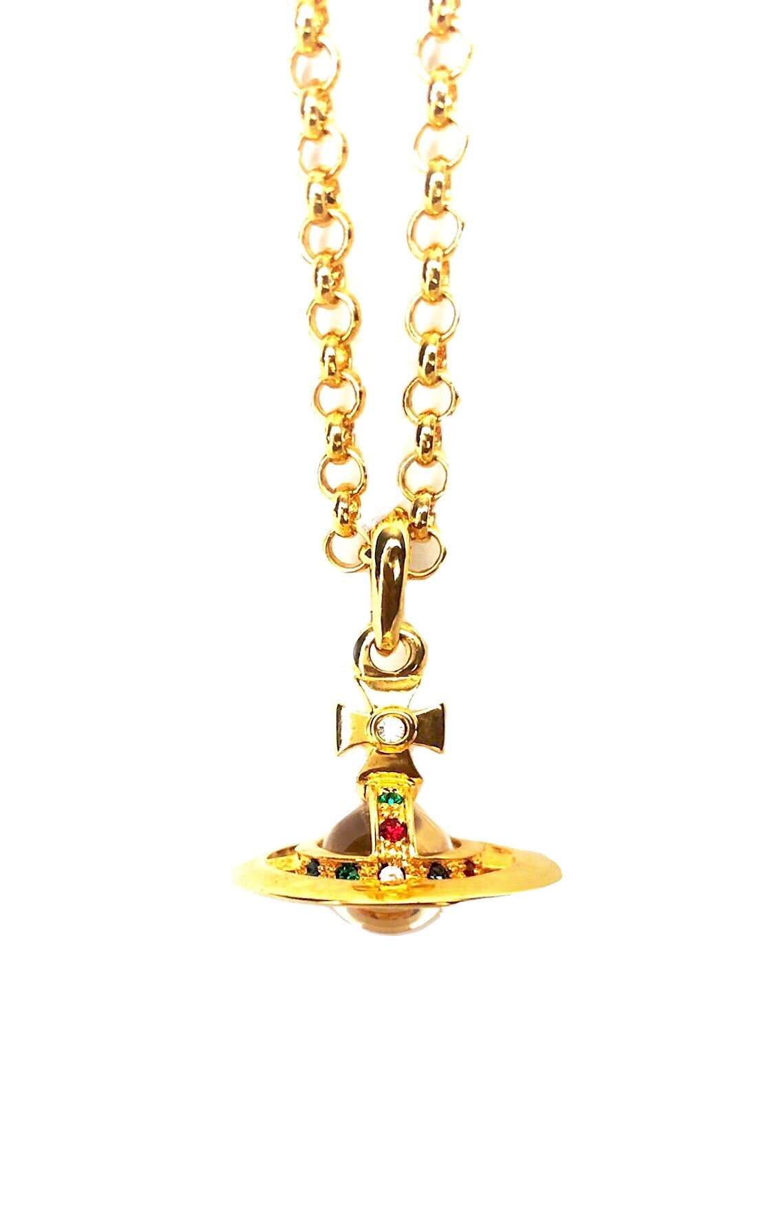 Vivienne Westwood Gold Orb Necklace