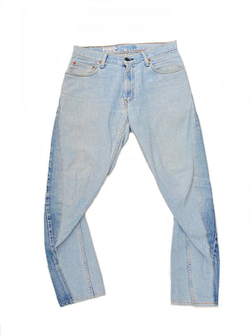 Needles Reconstructed Dimension Denim