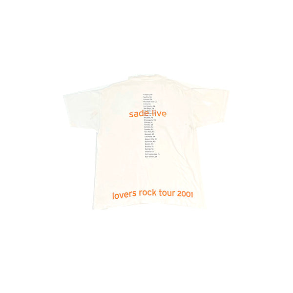 Sade Lovers Rock 2001 Tour T-Shirt