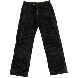Gaultier Jean's Coated Corduroy Pants