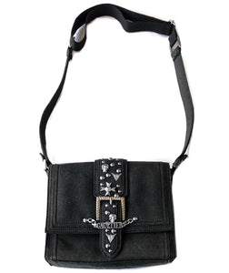 Jean Paul Gaultier Skulls and Studs Shoulder Bag