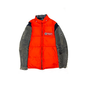 Undercover AW05 Orange Studded Puffer Jacket