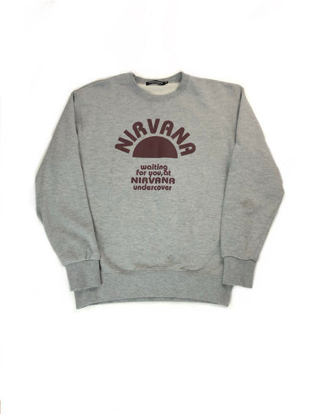 "Undercover ""Waiting for you, at Nirvana"" Crewneck- Size S"