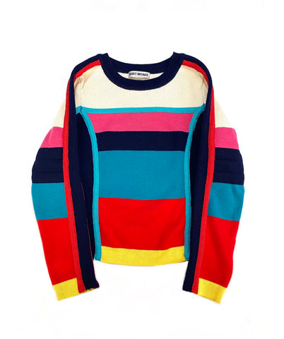 WMNS 90s Issey Miyake ColorBlock Knit