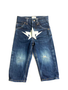 A Bathing Ape Kids Bape Star Crotch Denim