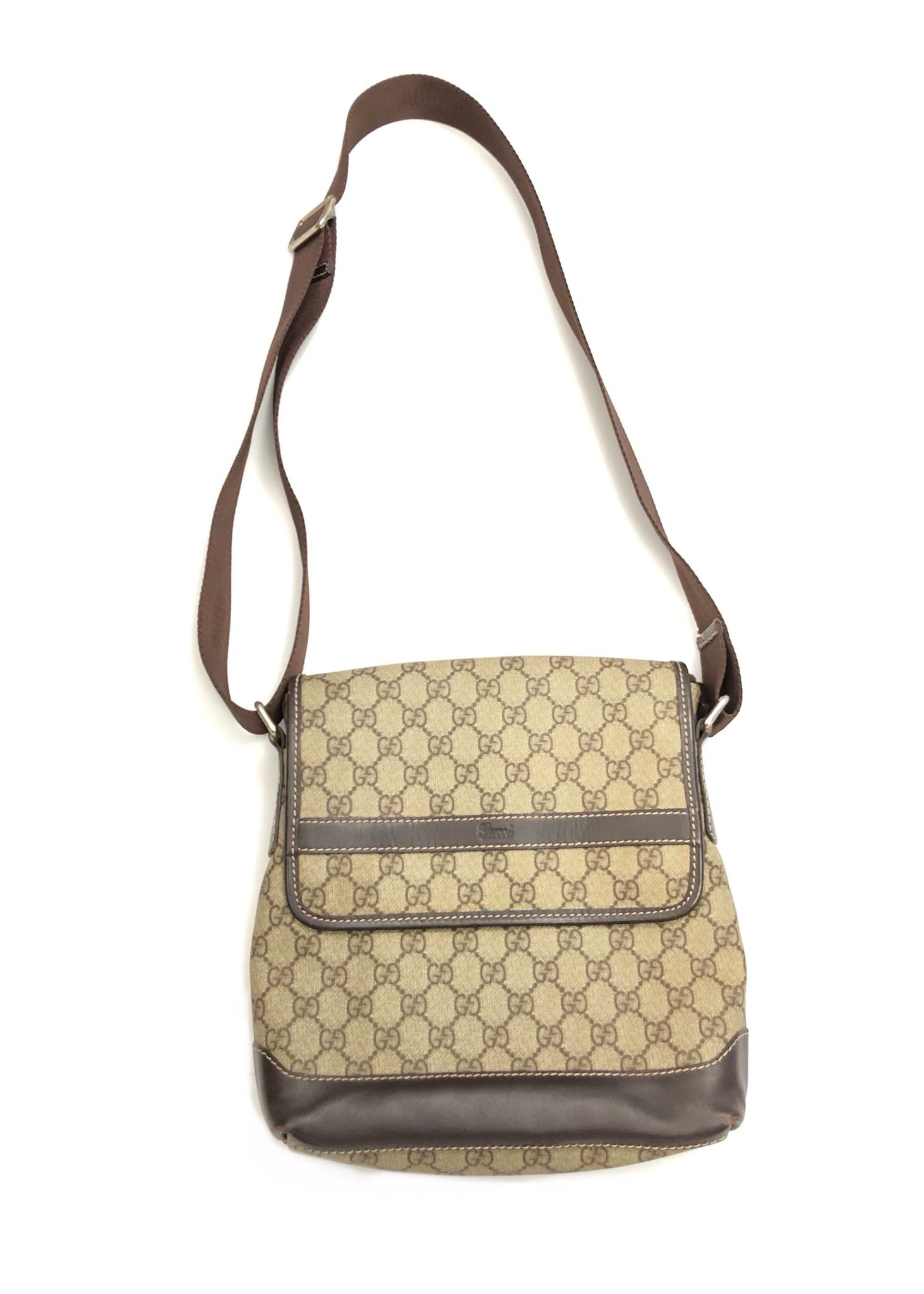 GUCCI MONOGRAM CROSSBODY BAG